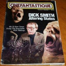 Cine: CINEFANTASTIQUE - VERANO 1981 - THE HOWLING DICK SMITH REVISTA CINE FANTÁSTICO Y TERROR - EN INGLÉS. Lote 278526768