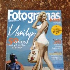 Cine: FOTOGRAMAS & DVD, LA PRIMERA REVISTA DE CINE N° 2025 (AÑO 65, JULIO 2012). Lote 278581313