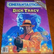 Cine: CINEFANTASTIQUE - JULIO 1990 - DICK TRACY - REVISTA CINE FANTÁSTICO Y TERROR - EN INGLÉS. Lote 278597493