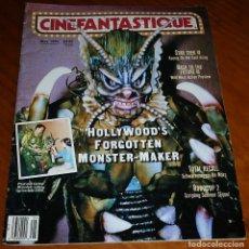 Cine: CINEFANTASTIQUE - MAYO 1990 - REVISTA CINE FANTÁSTICO Y TERROR - EN INGLÉS. Lote 278599403