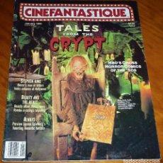 Cine: CINEFANTASTIQUE - ENERO 1990 - TALES FROM THE CRYPT - REVISTA CINE FANTÁSTICO Y TERROR - EN INGLÉS. Lote 278601178