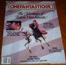 Cine: CINEFANTASTIQUE - MAYO 1989 - REVISTA CINE FANTÁSTICO Y TERROR - EN INGLÉS. Lote 278603868