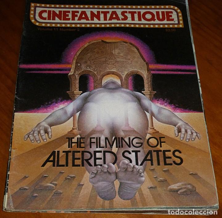 CINEFANTASTIQUE - OTOÑO FALL 1981 - ALTERED STATES - REVISTA CINE FANTÁSTICO Y TERROR - EN INGLÉS (Cine - Revistas - Otros)