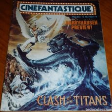 Cine: CINEFANTASTIQUE - WINTER INVIERNO 1980 - REVISTA CINE FANTÁSTICO Y TERROR - EN INGLÉS. Lote 278607943