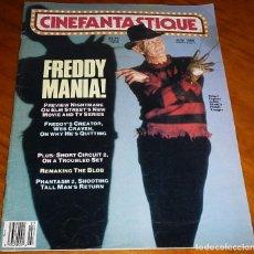 Cine: CINEFANTASTIQUE - JULIO 1988 - FREDDY KRUEGER - REVISTA CINE FANTÁSTICO Y TERROR - EN INGLÉS. Lote 278608888