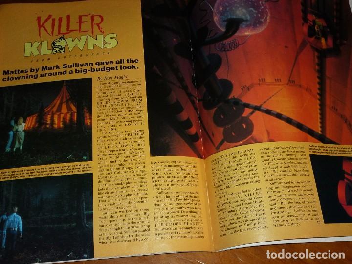 Cine: CINEFANTASTIQUE - JULIO 1988 - FREDDY KRUEGER - REVISTA CINE FANTÁSTICO Y TERROR - EN INGLÉS - Foto 4 - 278608888