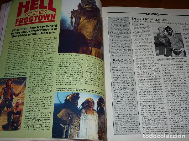 Cine: CINEFANTASTIQUE - JULIO 1988 - FREDDY KRUEGER - REVISTA CINE FANTÁSTICO Y TERROR - EN INGLÉS - Foto 5 - 278608888