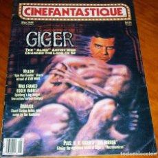 Cine: CINEFANTASTIQUE - MAYO 1988 - GIGER - REVISTA CINE FANTÁSTICO Y TERROR - EN INGLÉS. Lote 278609798