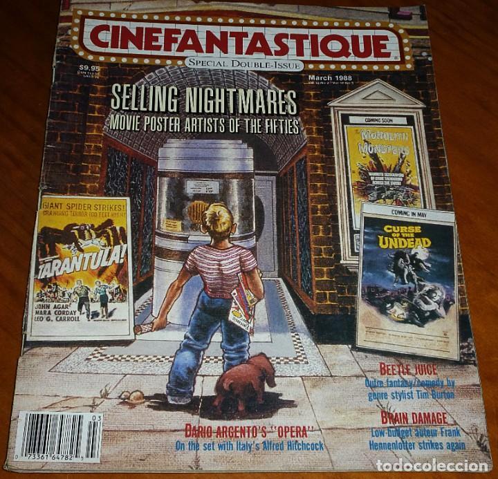 CINEFANTASTIQUE - MARZO 1988 - OPERA DARIO ARGENTO - REVISTA CINE FANTÁSTICO Y TERROR - EN INGLÉS (Cine - Revistas - Otros)