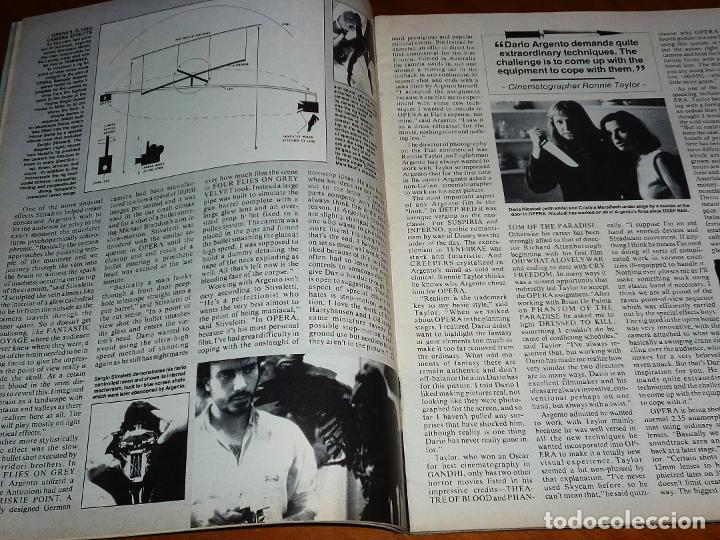 Cine: CINEFANTASTIQUE - MARZO 1988 - OPERA DARIO ARGENTO - REVISTA CINE FANTÁSTICO Y TERROR - EN INGLÉS - Foto 2 - 278611248