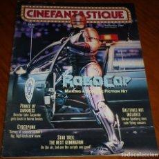 Cine: CINEFANTASTIQUE - DICIEMBRE 1987 - ROBOCOP - REVISTA CINE FANTÁSTICO Y TERROR - EN INGLÉS. Lote 278612128