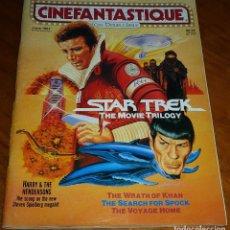 Cine: CINEFANTASTIQUE - JUNIO 1987 - STAR TREK TRILOGY - REVISTA CINE FANTÁSTICO Y TERROR - EN INGLÉS. Lote 278613228