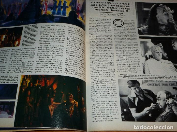 Cine: CINEFANTASTIQUE - JUNIO 1987 - STAR TREK TRILOGY - REVISTA CINE FANTÁSTICO Y TERROR - EN INGLÉS - Foto 5 - 278613228