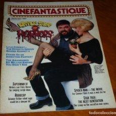 Cine: CINEFANTASTIQUE - SEPTIEMBRE 1987 - LITTLE SHOP HORRORS REVISTA CINE FANTÁSTICO Y TERROR - EN INGLÉS. Lote 278613943