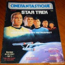 Cine: CINEFANTASTIQUE - MARZO 1987 - STAR TREK - REVISTA CINE FANTÁSTICO Y TERROR - EN INGLÉS. Lote 278615038