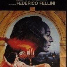 Cine: AFICHE CASANOVA FEDERICO FELLINI 1976 ORIGINAL CINE UNICO. Lote 278916583