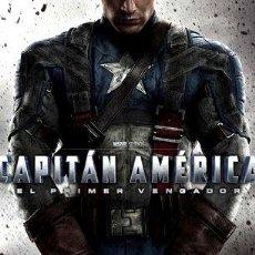 Cine: POSTER ORIGINAL CINE MARVEL CAPITAN AMERICA MOTIVO 1. Lote 278916598