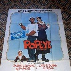 Cine: POPEYE AFICHE WALT DISNEY ROBIN WILLIAMS SDUVALL 23182. Lote 278918023
