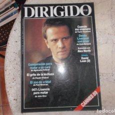 Cine: DIRIGIDO POR Nº 170, 007 LICENCIA PARA MATAR, DAVID LEAN (2),ALEX NORTH, EL ZOO DE CRISTAL, EL GRITO. Lote 278927283