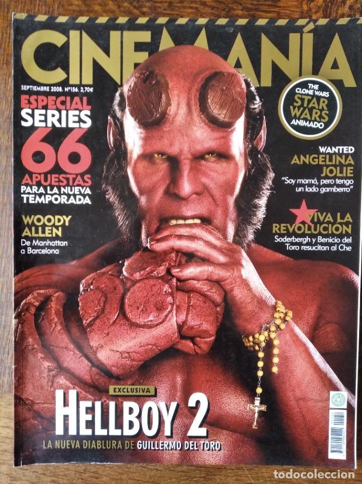 CINEMANIA Nº 156 DE 2008- HELLBOY II- BATMAN DARK KNIGHT- SODERBERGH- SARAH MICHELLE GELLAR- WOODY A (Cine - Revistas - Cinemanía)