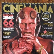 Cine: CINEMANIA Nº 156 DE 2008- HELLBOY II- BATMAN DARK KNIGHT- SODERBERGH- SARAH MICHELLE GELLAR- WOODY A. Lote 279376943