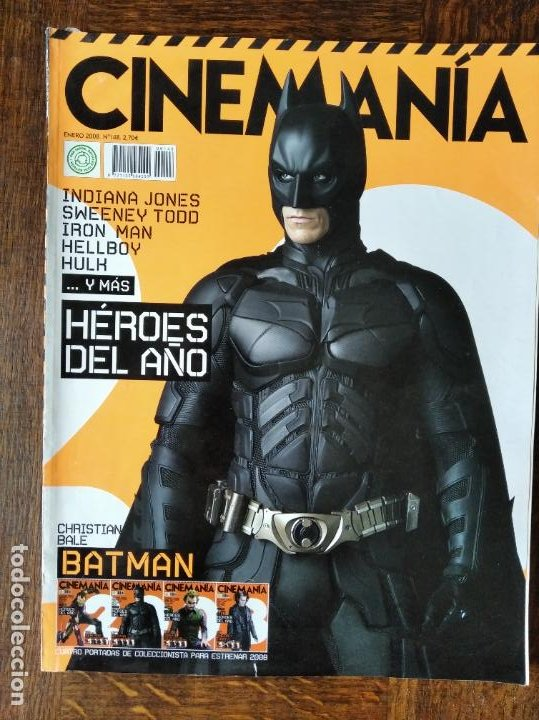 CINEMANIA Nº 148 DE 2008- BATMAN- HALLOWEEN- FERNAN GOMEZ- WES ANDERSON- AMERICAN GANGSTER- KEIRA KN (Cine - Revistas - Cinemanía)