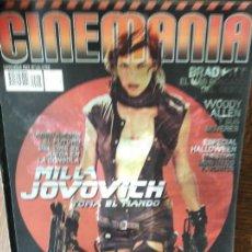 Cine: CINEMANIA Nº 146 DE 2007- MILLA JOVOVICH- BRAD PITT- WOODY ALLEN- CATE BLANCHETT- RESIDENT EVIL MONS. Lote 279415073