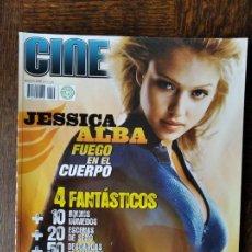 Cine: CINEMANIA Nº 143 DE 2007- JESSICA ALBA- LOS 4 FANTASTICOS - SEXO- PIXAR- MATT DAMON- JULIO MEDEM.... Lote 279417453