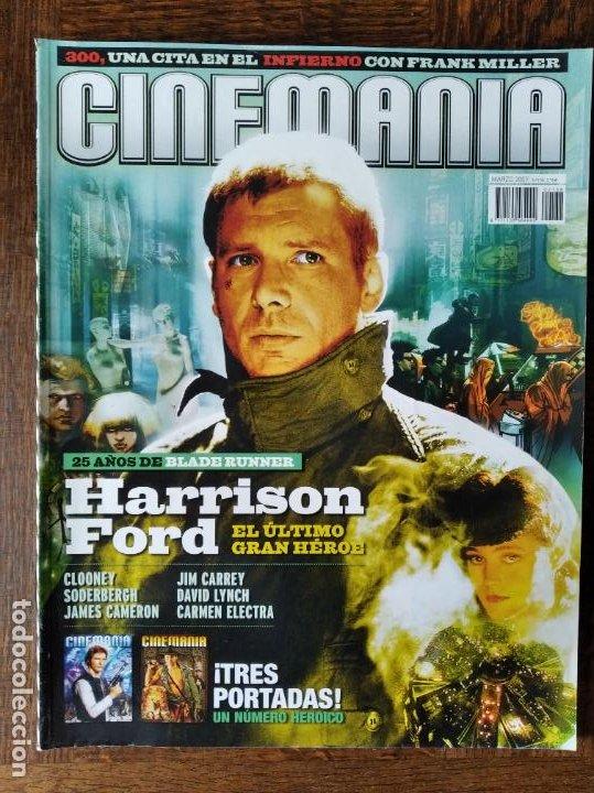 CINEMANIA Nº 138 DE 2007- HARRISON FORD- 300- SODERBERGH & CLOONEY- LOS GOYA PENELOPE CRUZ, VIGGO MO (Cine - Revistas - Cinemanía)