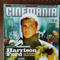 Cine: CINEMANIA Nº 138 DE 2007- HARRISON FORD- 300- SODERBERGH & CLOONEY- LOS GOYA PENELOPE CRUZ, VIGGO MO. Lote 279419388