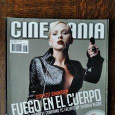 Cine: CINEMANIA Nº 133 DE 2006- SCARLETT JOHANSSON LA DALIA NEGRA- DEL TORO, CUARON & IÑARRITU- ED HARRIS. Lote 279423883
