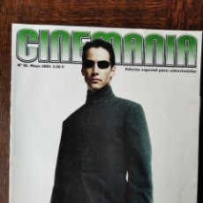 Cine: CINEMANIA Nº 92, 2003- MATRIX- DENZEL WASHINGTON- MARIBEL VERDU- JAVIER CAMARA- EDWARD NORTON- X-MEN. Lote 279439908