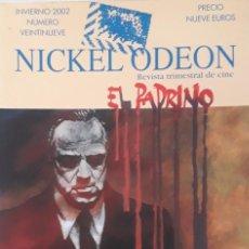 Cine: EL PÁDRINO / REVSITA NICKEL ODEON. Nº 29.. Lote 279448128