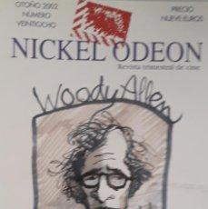 Cine: WOODY ALLEN / REVSITA NICKEL ODEON. Nº 28.. Lote 279449438