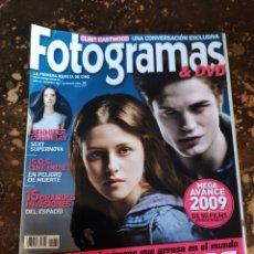 Cine: FOTOGRAMAS & DVD, LA PRIMERA REVISTA DE CINE N° 1982 (AÑO 62, DICIEMBRE 2008). Lote 279454218