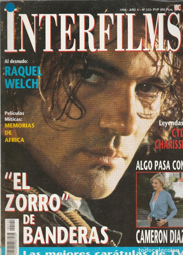 REVISTA INTERFIMS EL ZORRO DE ANTONIO BANDERAS AÑO1998 Nº 122 PAGINAS 114 (Cine - Revistas - Interfilms)