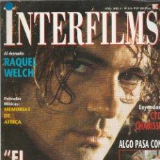 Cine: REVISTA INTERFIMS EL ZORRO DE ANTONIO BANDERAS AÑO1998 Nº 122 PAGINAS 114. Lote 280517628