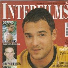 Cine: REVISTA INTERFIMS LA OTRA CARA DE CARLOS FUENTES AÑO 2000 Nº 138 PAGINAS 114. Lote 280518043