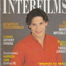 Cine: REVISTA INTERFIMS MENOS ES MÁS SERGIO PERIS-MANCHETA AÑO 2000 Nº 142 PAGINAS 114. Lote 280519943