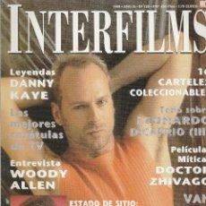 Cine: REVISTA INTERFIMS DURO DE PELAR BRUCE WILLIS AÑO 1999 Nº 125 PAGINAS 114. Lote 280521078