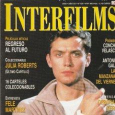 Cine: REVISTA INTERFIMS EL TALENTO NOMINADO DE MR.JUDE LAW AÑO 2000 Nº 139 PAGINAS 114. Lote 280521473