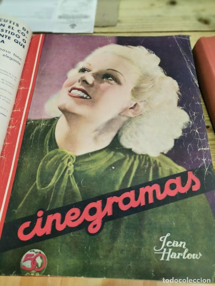 Cine: CINEGRAMAS, 1 TOMO CON 15 REVISTAS DE38/40 PÁGINAS, VER RELACION DE NUMEROS - Foto 5 - 280792628
