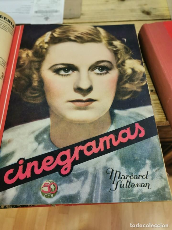 Cine: CINEGRAMAS, 1 TOMO CON 15 REVISTAS DE38/40 PÁGINAS, VER RELACION DE NUMEROS - Foto 6 - 280792628