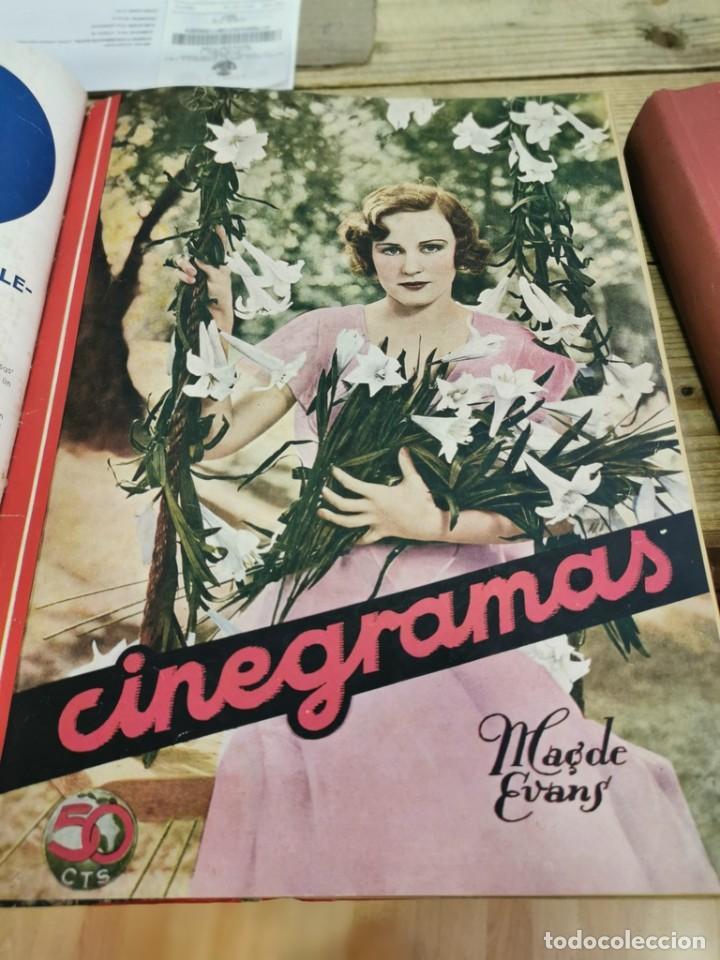 Cine: CINEGRAMAS, 1 TOMO CON 15 REVISTAS DE38/40 PÁGINAS, VER RELACION DE NUMEROS - Foto 7 - 280792628