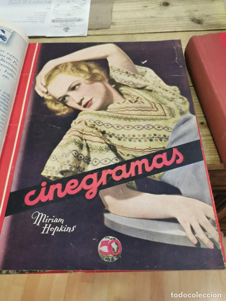 Cine: CINEGRAMAS, 1 TOMO CON 15 REVISTAS DE38/40 PÁGINAS, VER RELACION DE NUMEROS - Foto 9 - 280792628