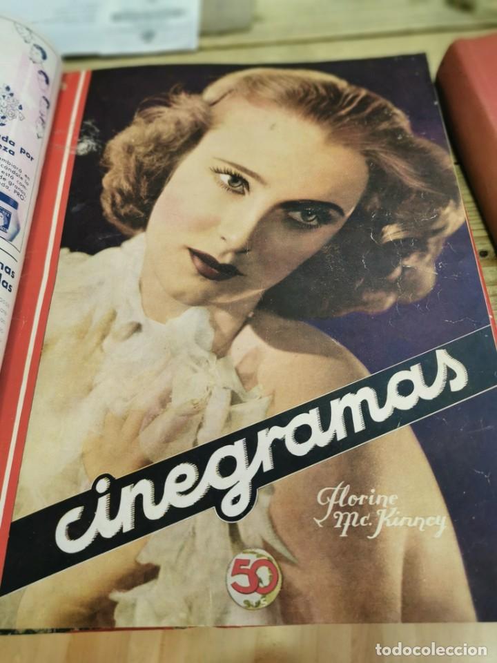 Cine: CINEGRAMAS, 1 TOMO CON 15 REVISTAS DE38/40 PÁGINAS, VER RELACION DE NUMEROS - Foto 10 - 280792628