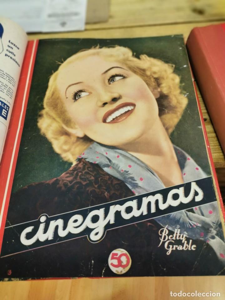 Cine: CINEGRAMAS, 1 TOMO CON 15 REVISTAS DE38/40 PÁGINAS, VER RELACION DE NUMEROS - Foto 11 - 280792628