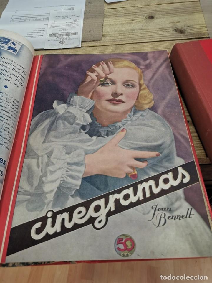 Cine: CINEGRAMAS, 1 TOMO CON 15 REVISTAS DE38/40 PÁGINAS, VER RELACION DE NUMEROS - Foto 12 - 280792628