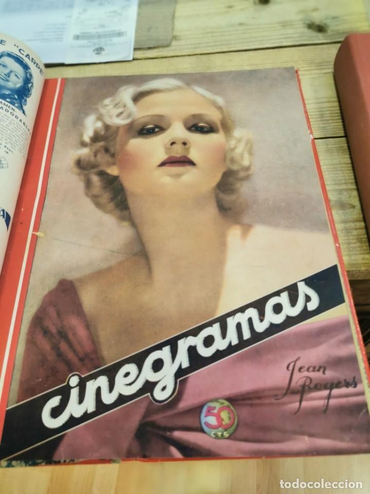 Cine: CINEGRAMAS, 1 TOMO CON 15 REVISTAS DE38/40 PÁGINAS, VER RELACION DE NUMEROS - Foto 13 - 280792628