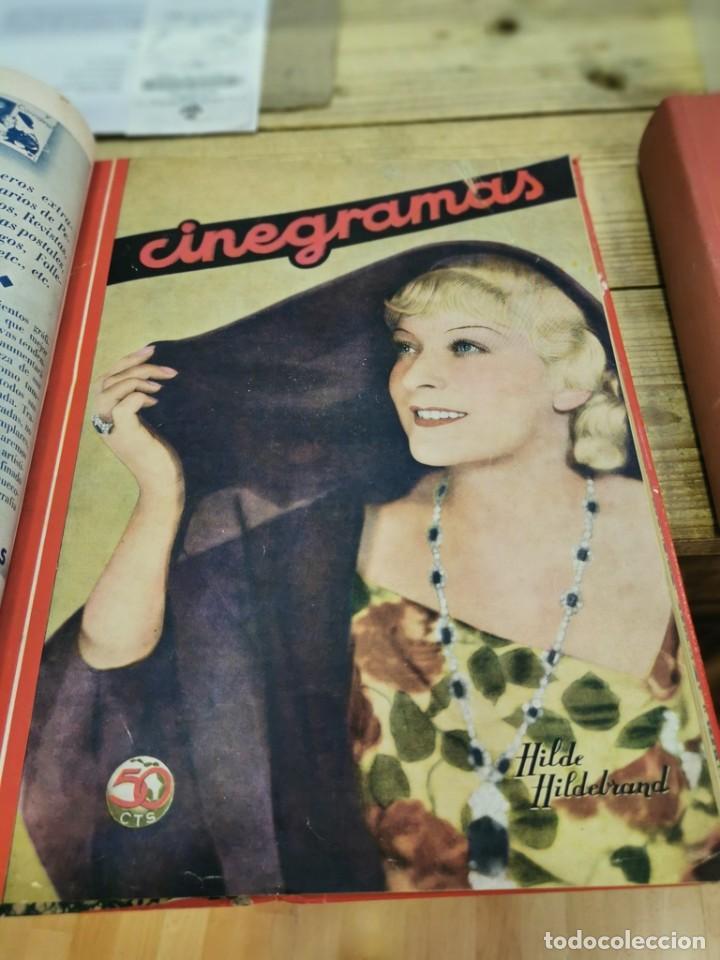 Cine: CINEGRAMAS, 1 TOMO CON 15 REVISTAS DE38/40 PÁGINAS, VER RELACION DE NUMEROS - Foto 14 - 280792628